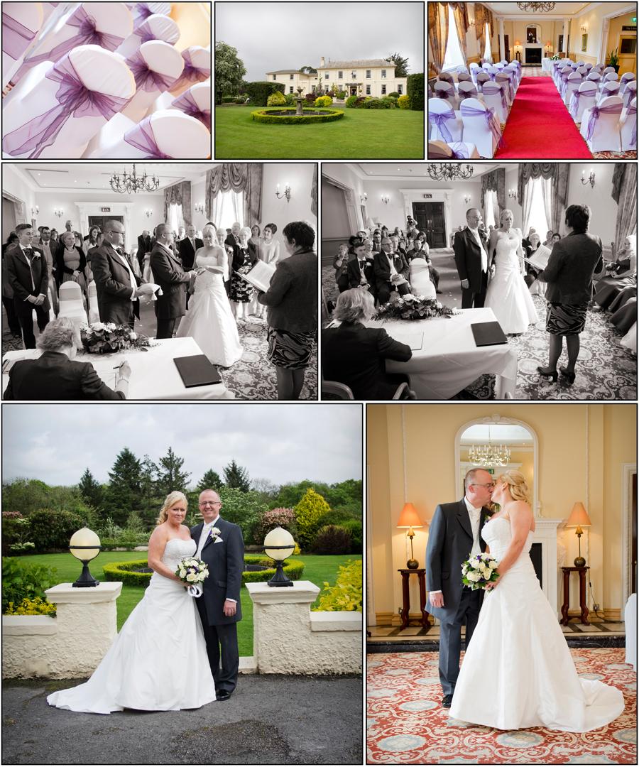 Ty newydd wedding